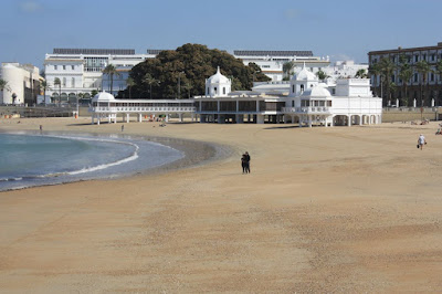 La Caleta Beach in Cádiz