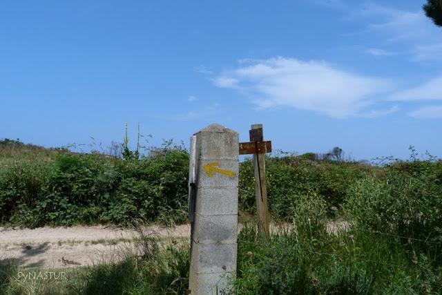 Senda costera Tapia de Casariego a Playa de Peñarronda - Asturias