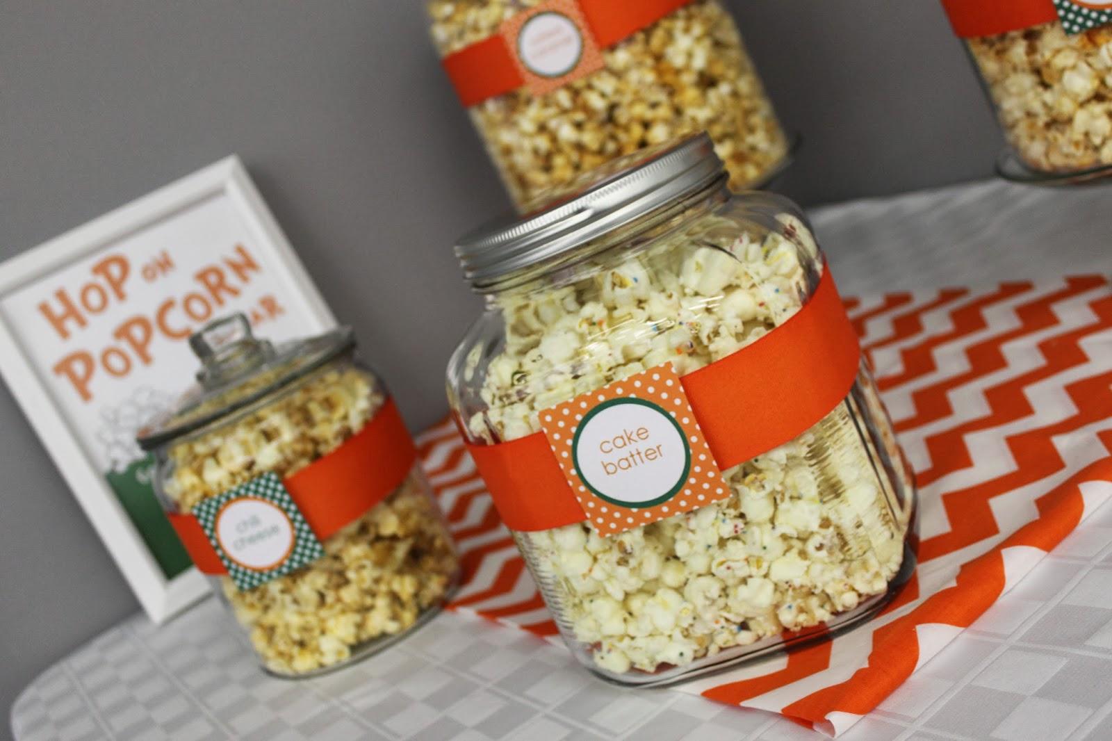 Schenk Sightings Popcorn Bar Dr Suess Baby Shower