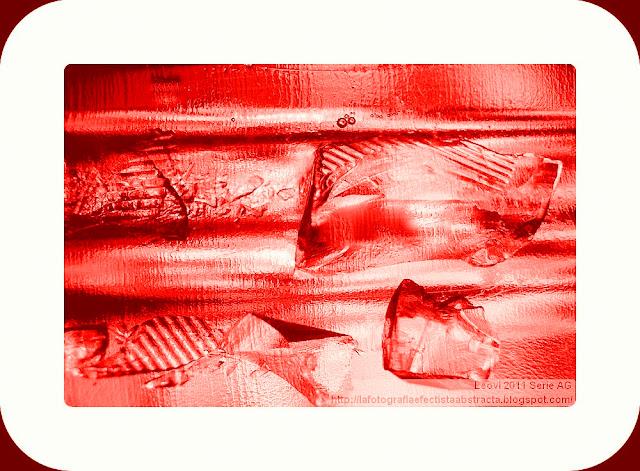 Foto Abstracta 3400  Pensamientos rotos en mi camino - Broken thoughts on my way