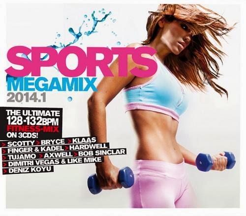 Download Sports Megamix 2014.1 Baixar CD mp3 2014