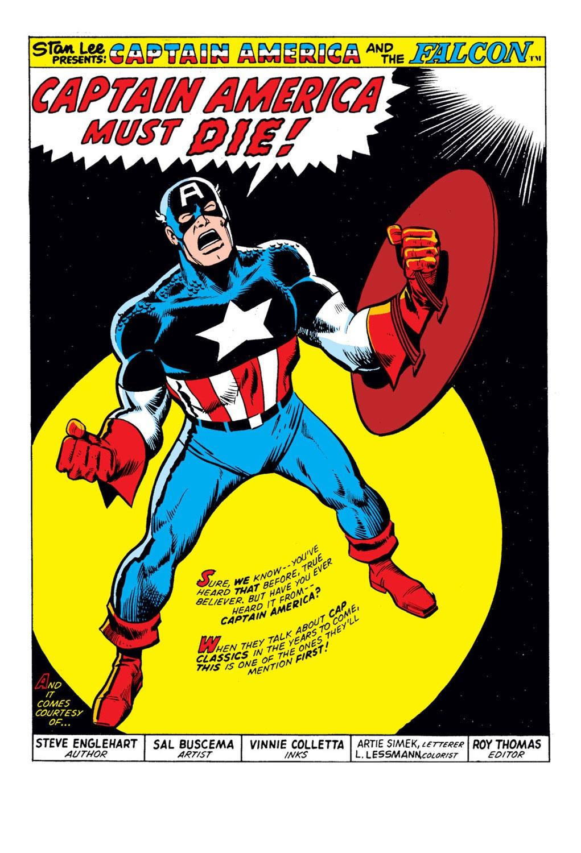Captain America (1968) Issue #176 #90 - English 2