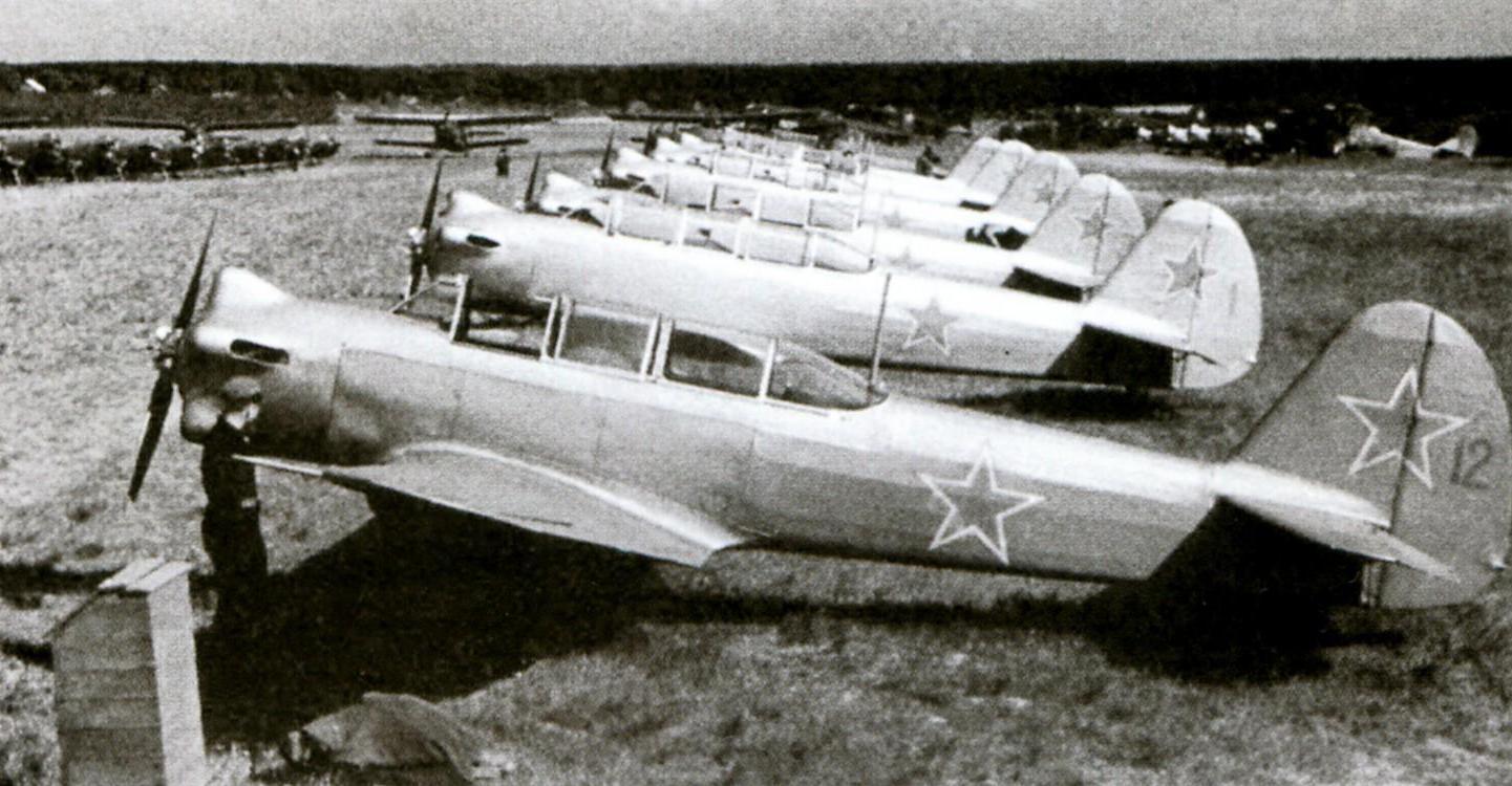 Линейка Як-18
