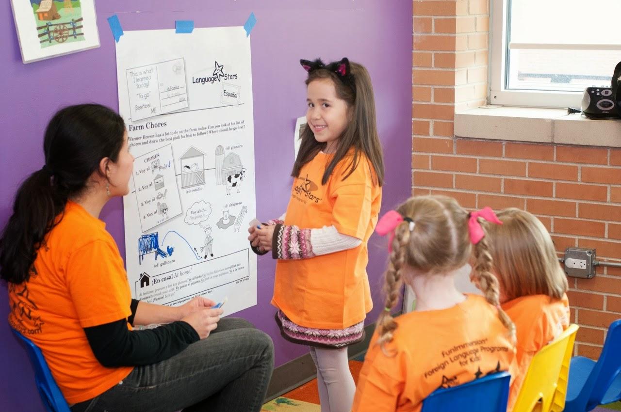 language saturday school how to open