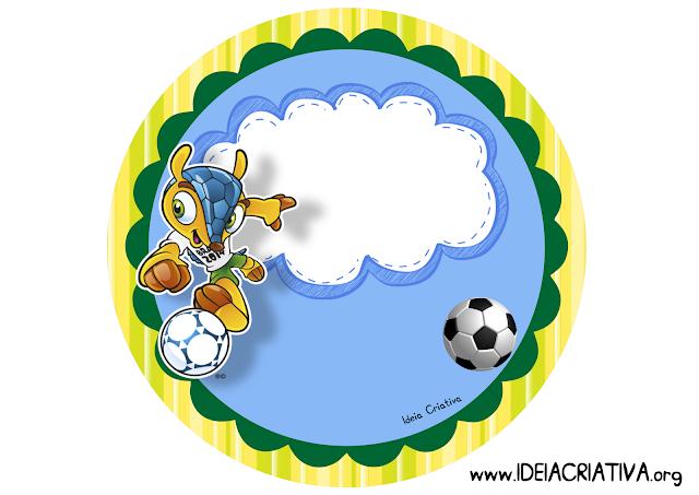 Placa de Porta Tema Copa do Mundo 2014