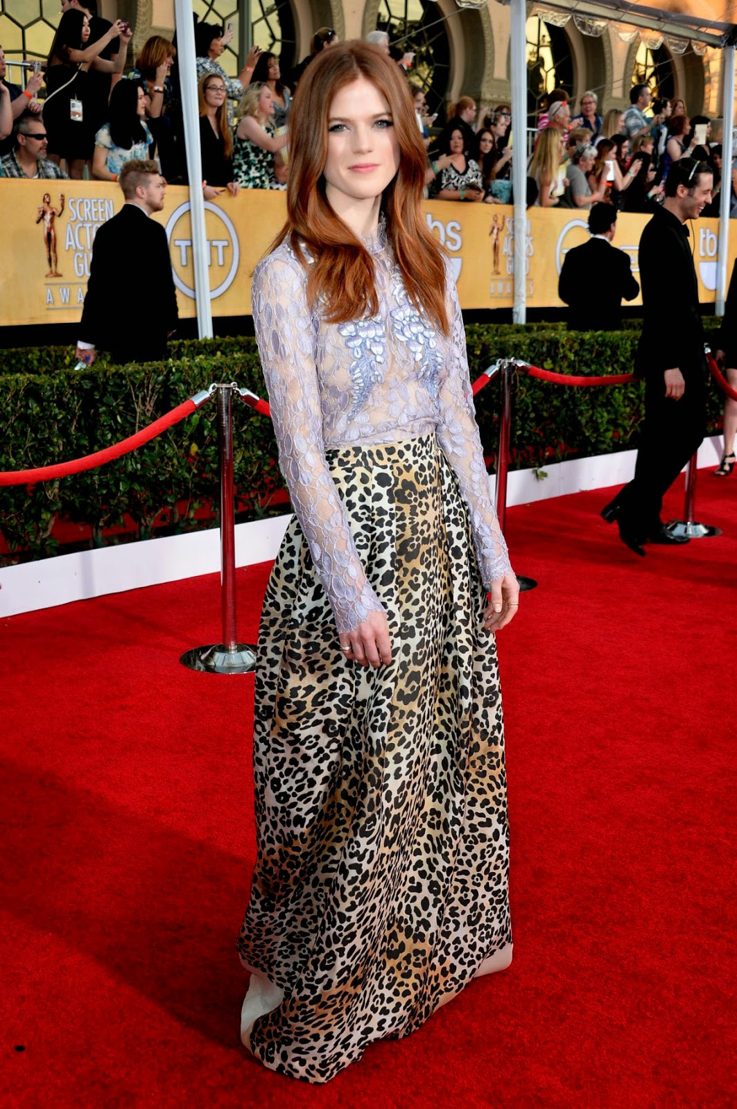 Celebrities Rose Leslie