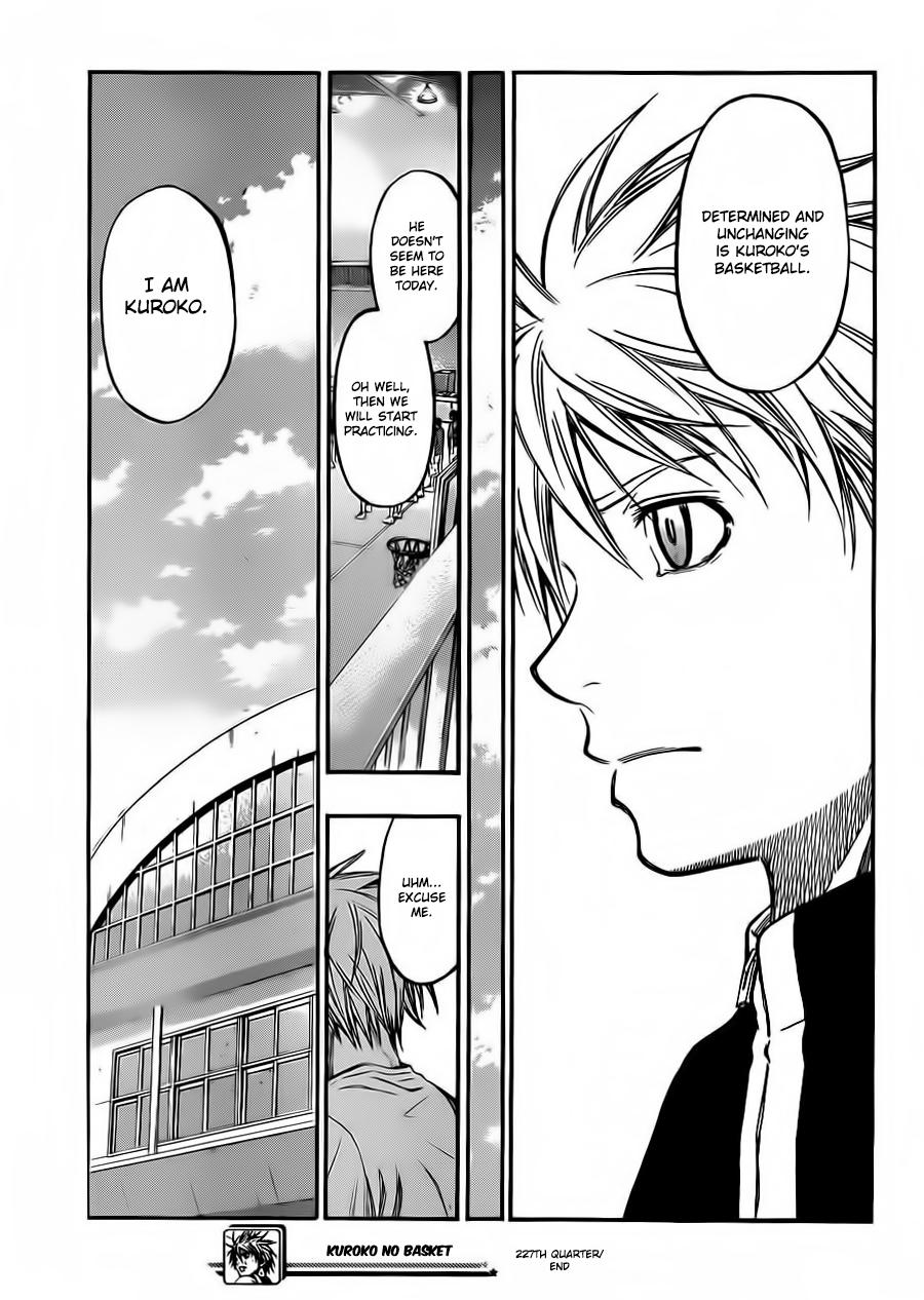Kuroko no Basket 227 - Page 1