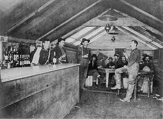Midlist Writer Old West Photo Friday A Saloon In Alaska