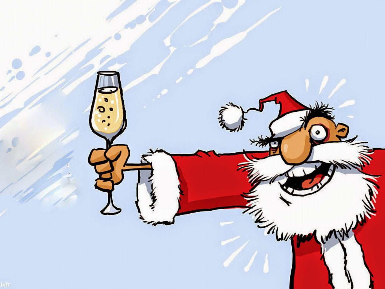 Поздравления тосты приколы новогодние