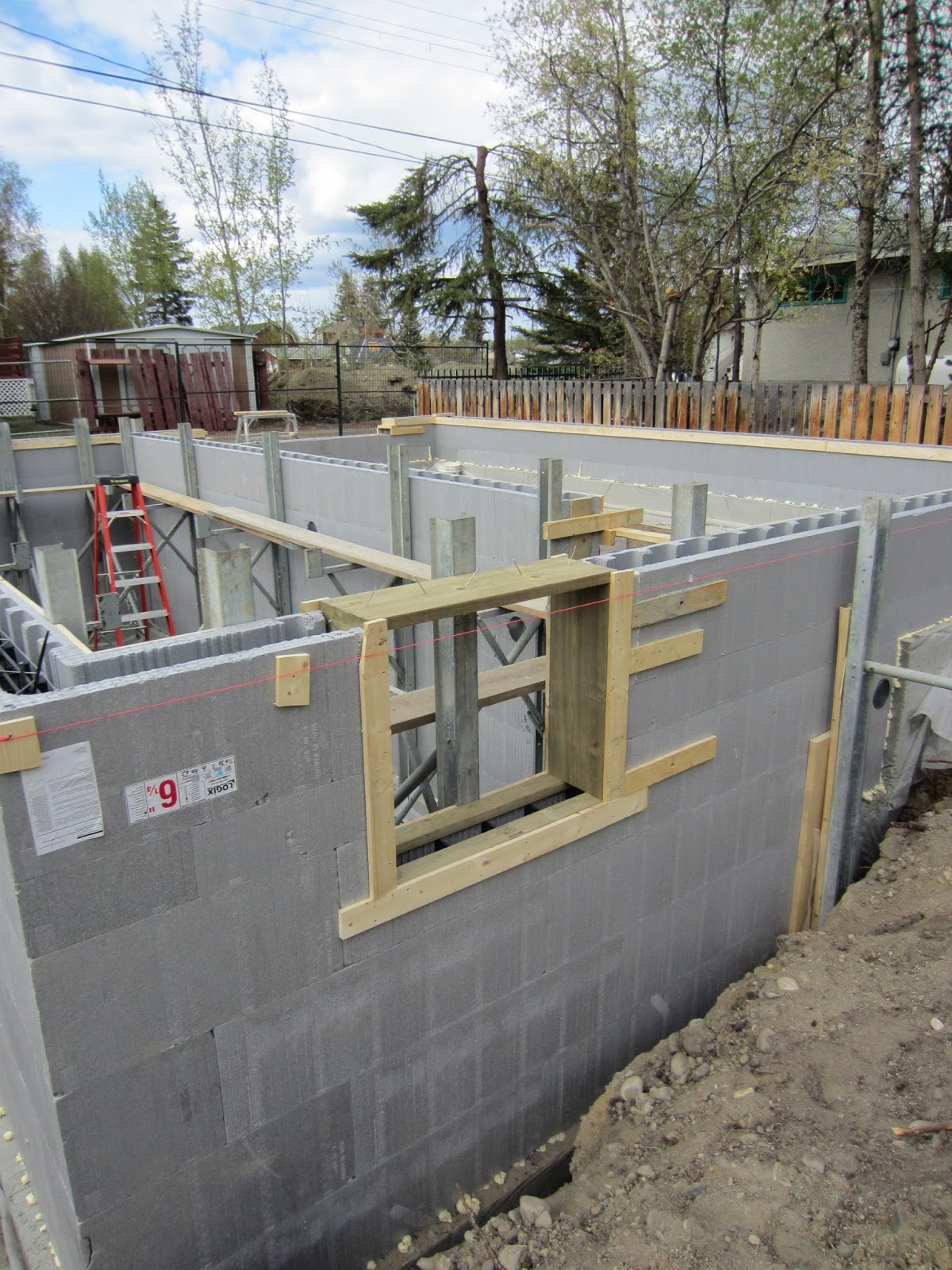 Old way of seeing super insulating a basement for Icf basement