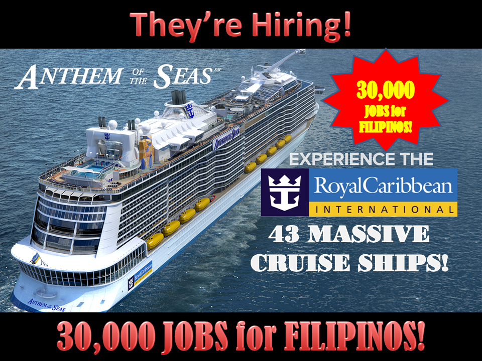 THIS WORLD CLASS CRUISE COMPANY WITH GIANT SHIPS WILL HIRE - Cruise ship worker blog