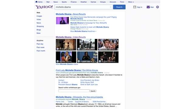 Yahoo! Search goes for a makeover and gets a modern look but only in US for the moment