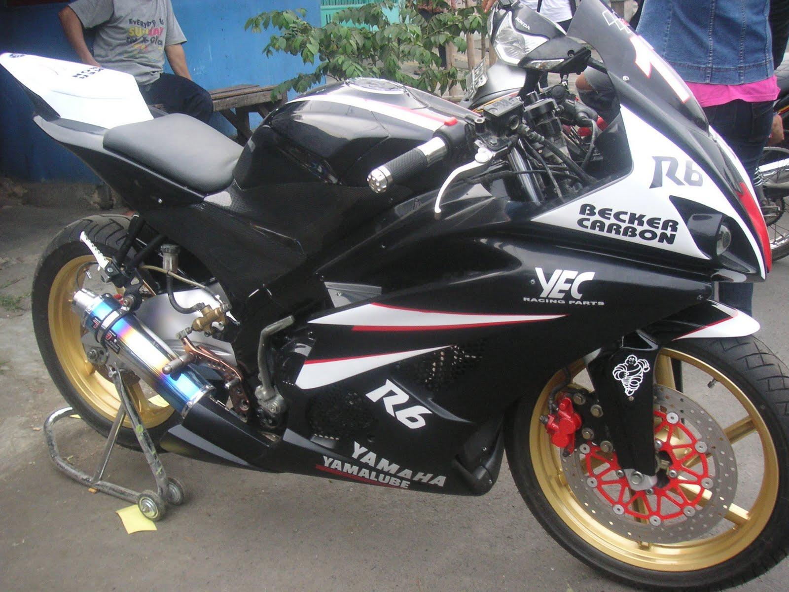 Modif Stang Jepit Yamaha Vixion