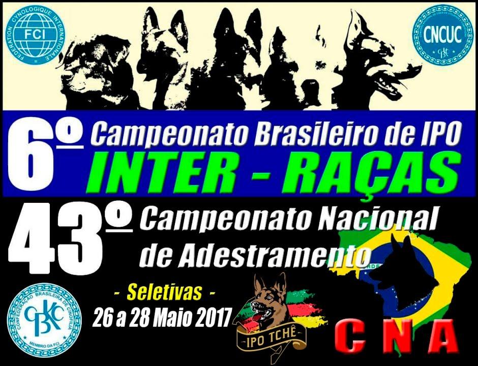 6º Campeonato Brasileiro de IPO e 43º Campeonato Nacional de Adestramento