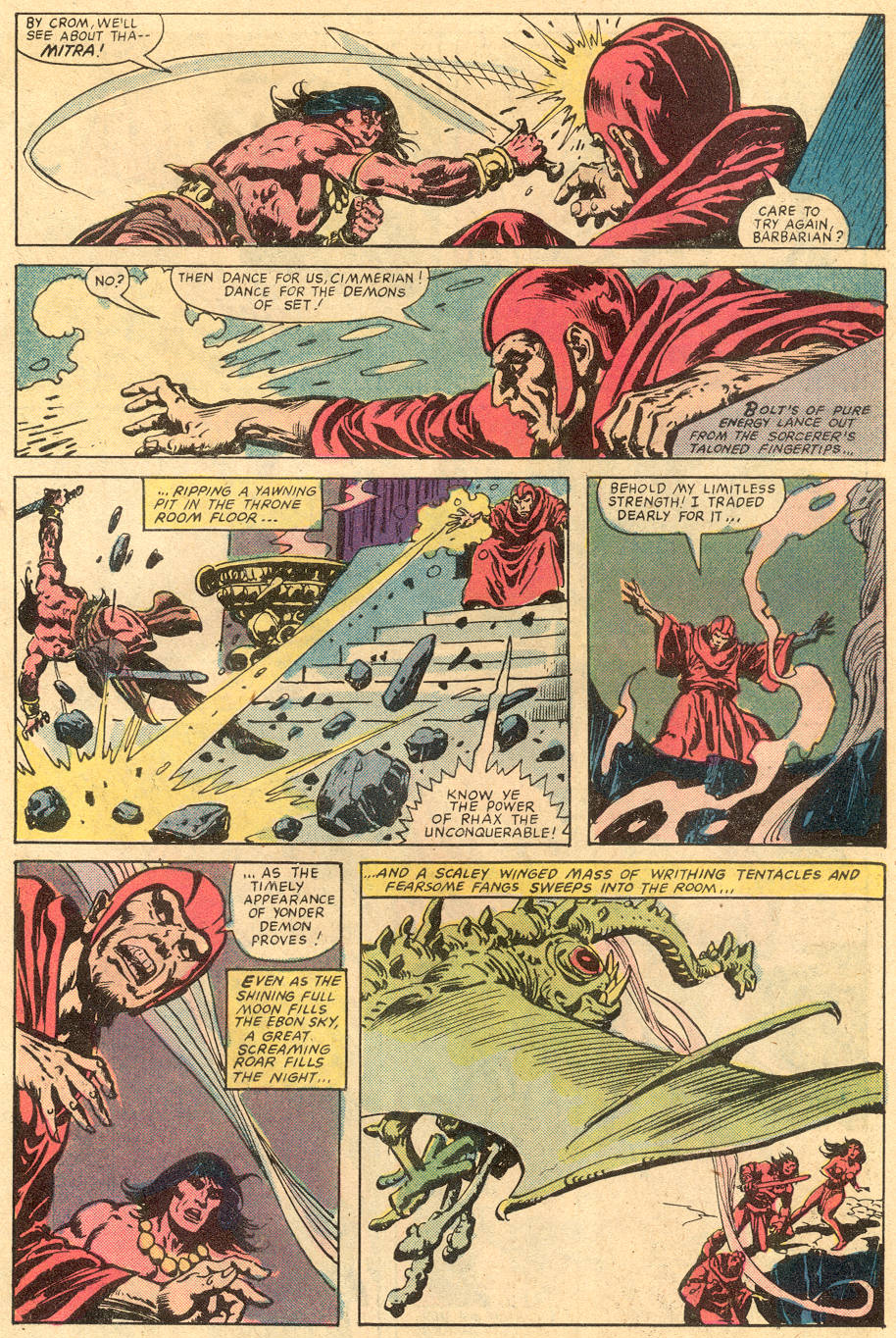 Conan the Barbarian (1970) Issue #131 #143 - English 20