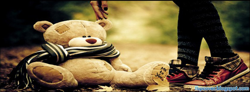 Alone, cute, teddy, bear, facebook, cover, fb, timeline ...