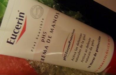 crema de manos nutritiva de eucerin