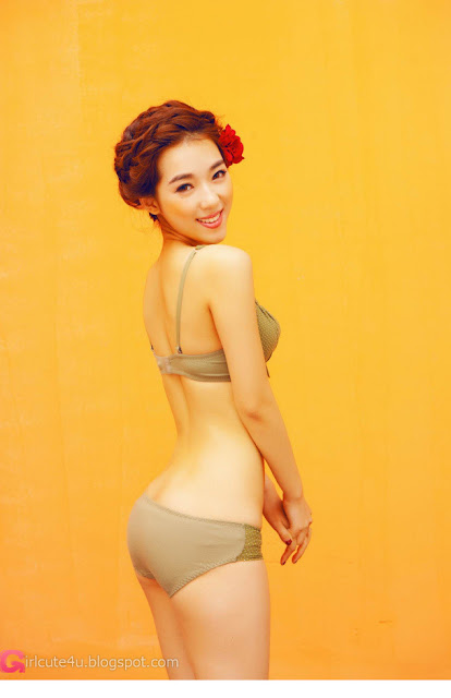 3 Orange color of sexy-Very cute asian girl - girlcute4u.blogspot.com