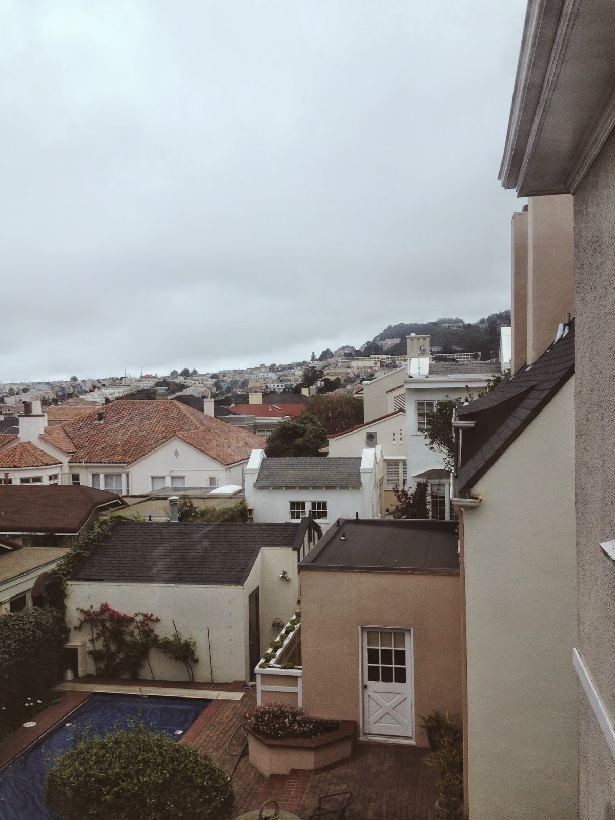view of rooftops in San Francisco