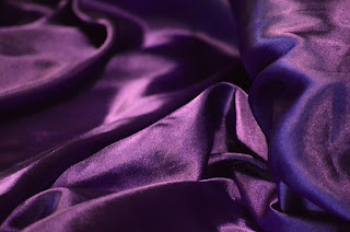Royal purple fabric