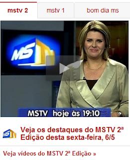 TV MORENA AGORA COM UM LINK DIRETO NO JORNAL G1 DA GLOBO
