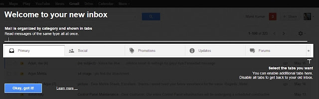 new gmail features on the web