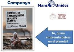 CAMPANYA MANS UNIDES. PROGRAMACIÓ PARRÒQUIA