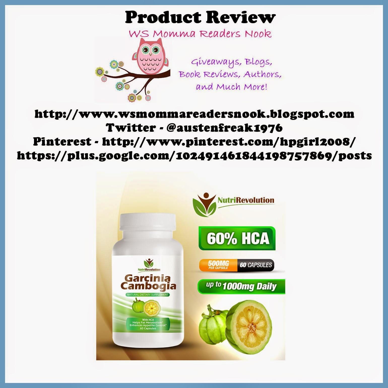 http://smile.amazon.com/nutrirevolution-pure-garcinia-cambogia-extract ...