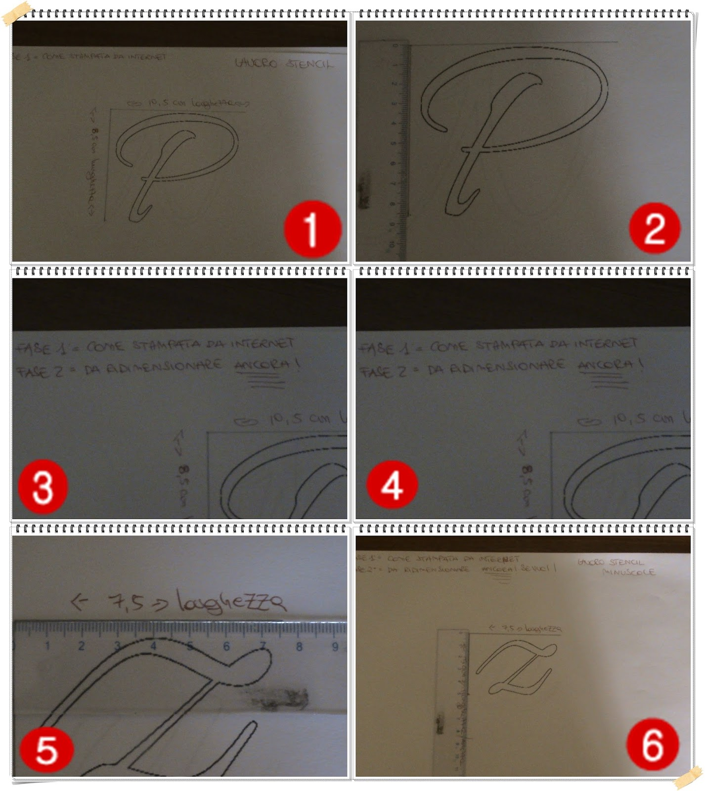 Rossochepassione: Runners iuta & Diy stencil - 2° tutorial