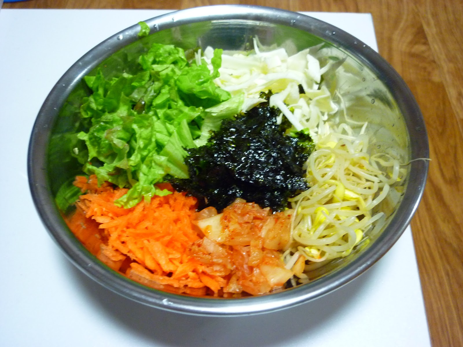 how to make bibimbap in a rice cooker