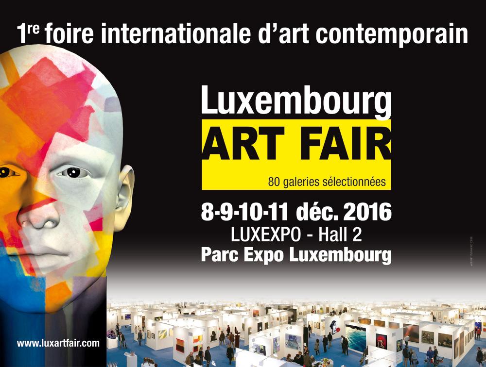 LUXEMBOURG ART FAIR : LA GALERIE LE FLOCH & LE FLOCH REPRÉSENTE CAPTON DU 8 AU 11 DÉCEMBRE 2016