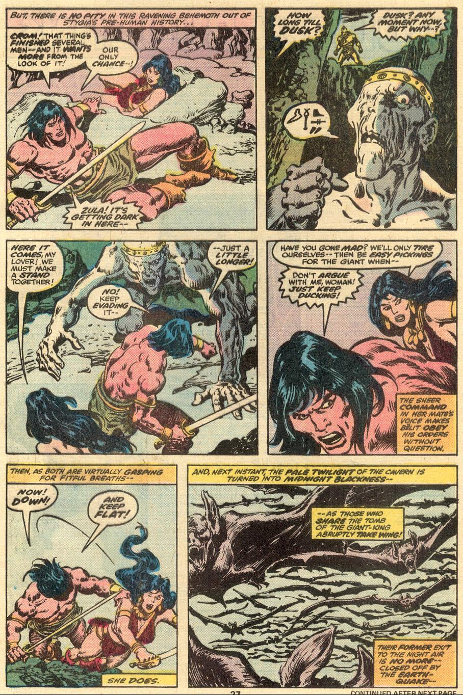 Conan the Barbarian (1970) Issue #90 #102 - English 17