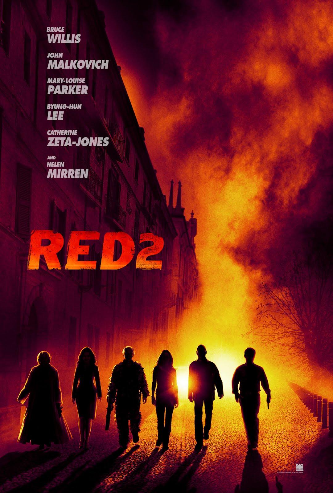 ตัวอย่างหนังใหม่ :  RED2 คนอึดต้องกลับมาอึด 2 ซับไทย Poster