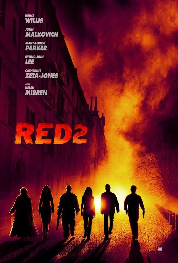ตัวอย่างหนังใหม่ ซับไทย - RED2 (คนอึดต้องกลับมาอึด 2) poster