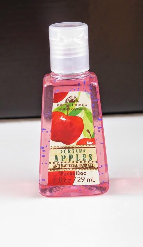 Fresh picked Bath  and Body Works traškių obuolių kvapo antibakterinė dušo želė