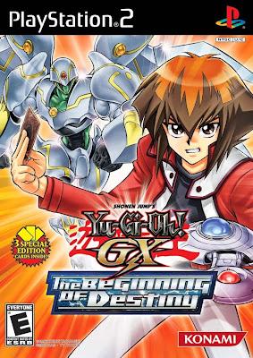 Yu Gi Oh! GX The Beginning Of Destiny PS2 Game
