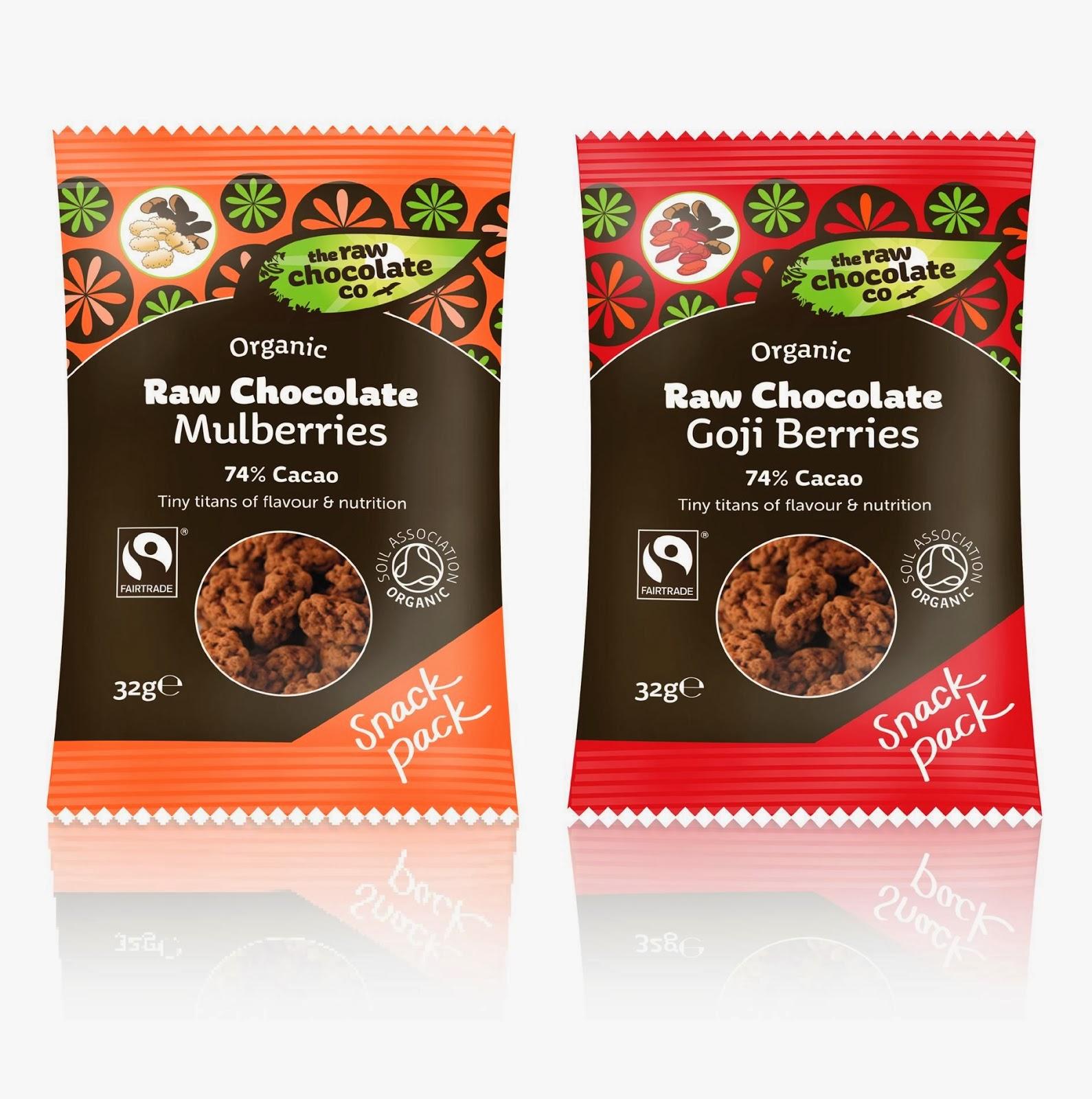 Raw Chocolate Company Mixed Snack Packs