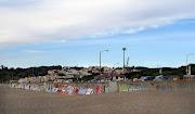 Graffiti wall, Ocean Beach, San Francisco