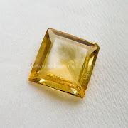 Batu Permata Yellow Citrine - SP923