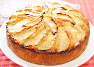 Pastel de Manzana y Canela