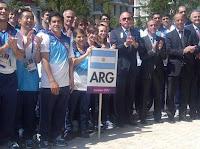 La delegación argentina en los Juegos Olímpicos
