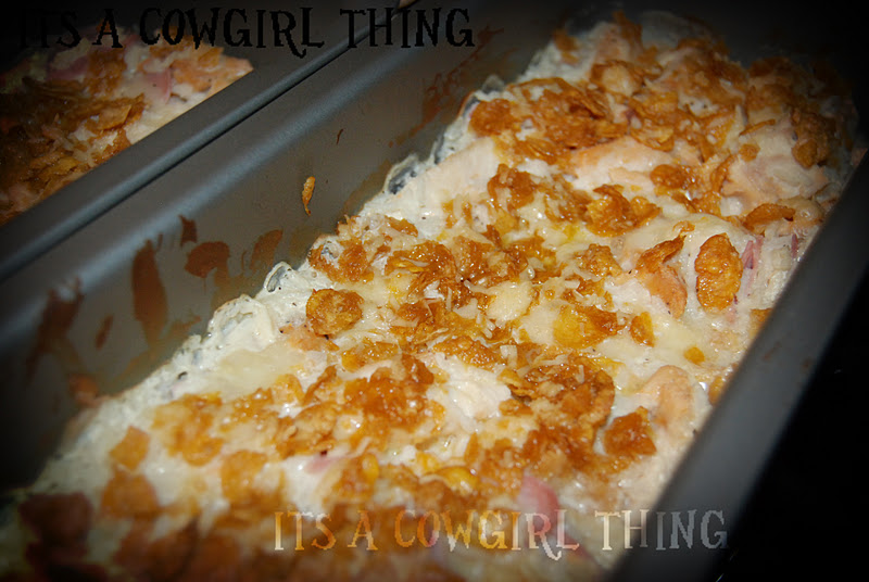 Its A Cowgirl Thing: Chicken Cordon Bleu Casserole
