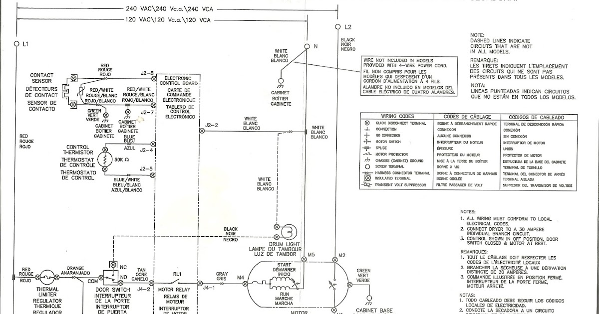 Appliance talk frigidaire front load dryer wiring diagram swarovskicordoba Images