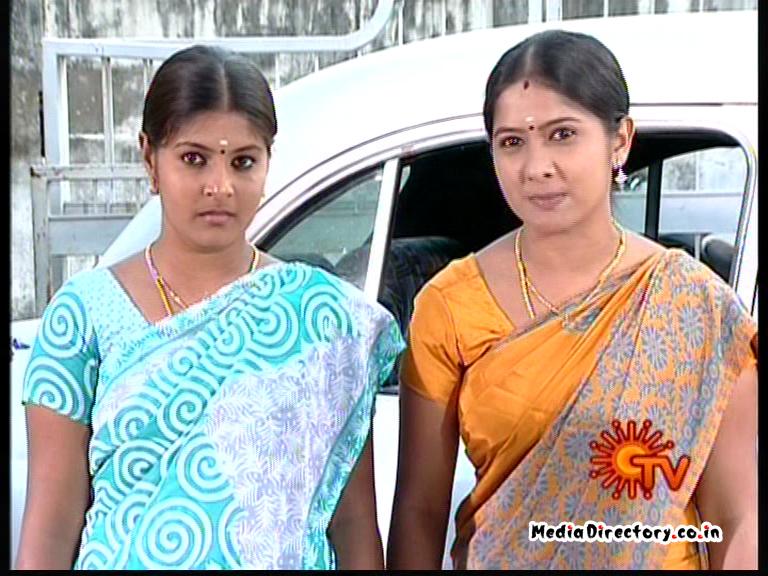 Karthigai Pengal sun tv serial snap shots