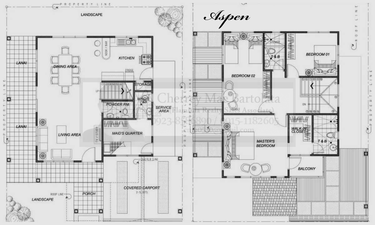 2 Storey 3 Bedroom House Floor Plan Philippines 3 Wall Decal