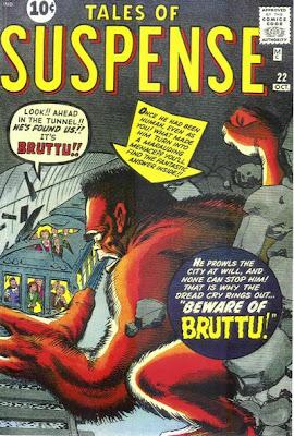 Tales of Suspense #22, Bruttu