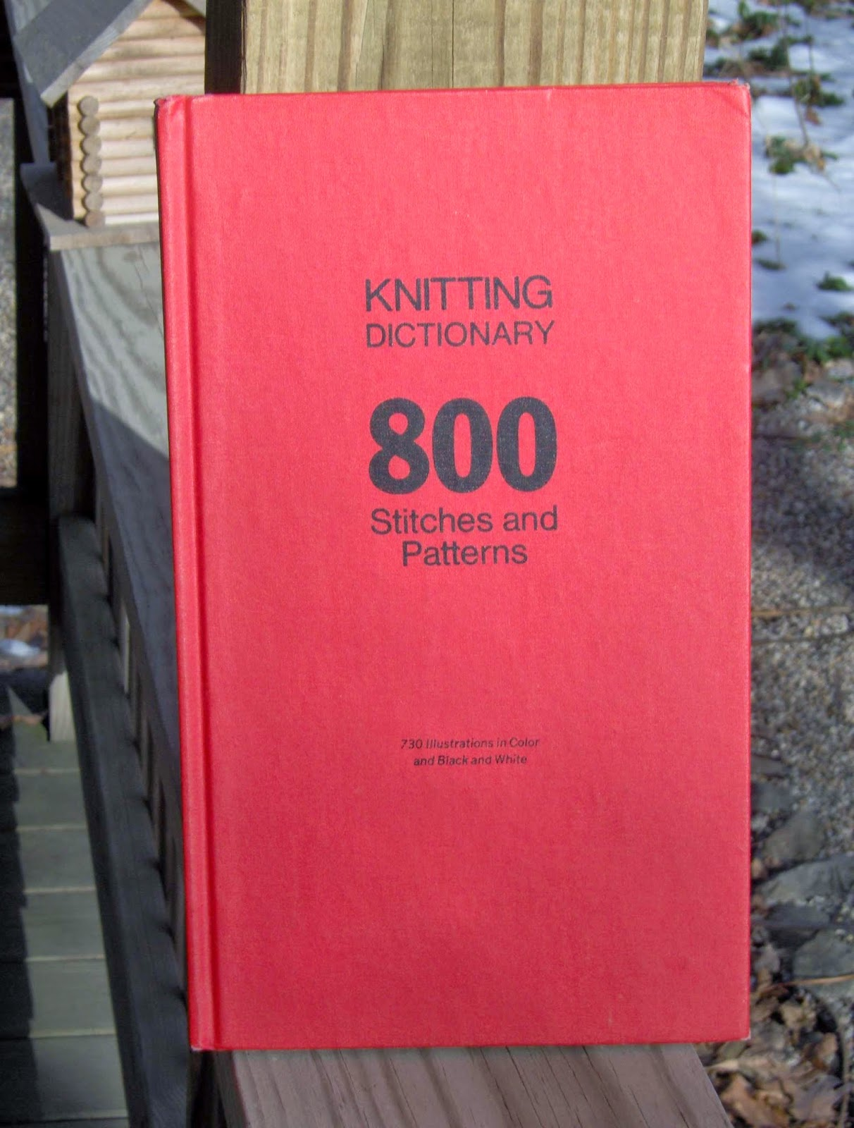 Knitting Stitches Dictionary Free : Stone Sock Blog
