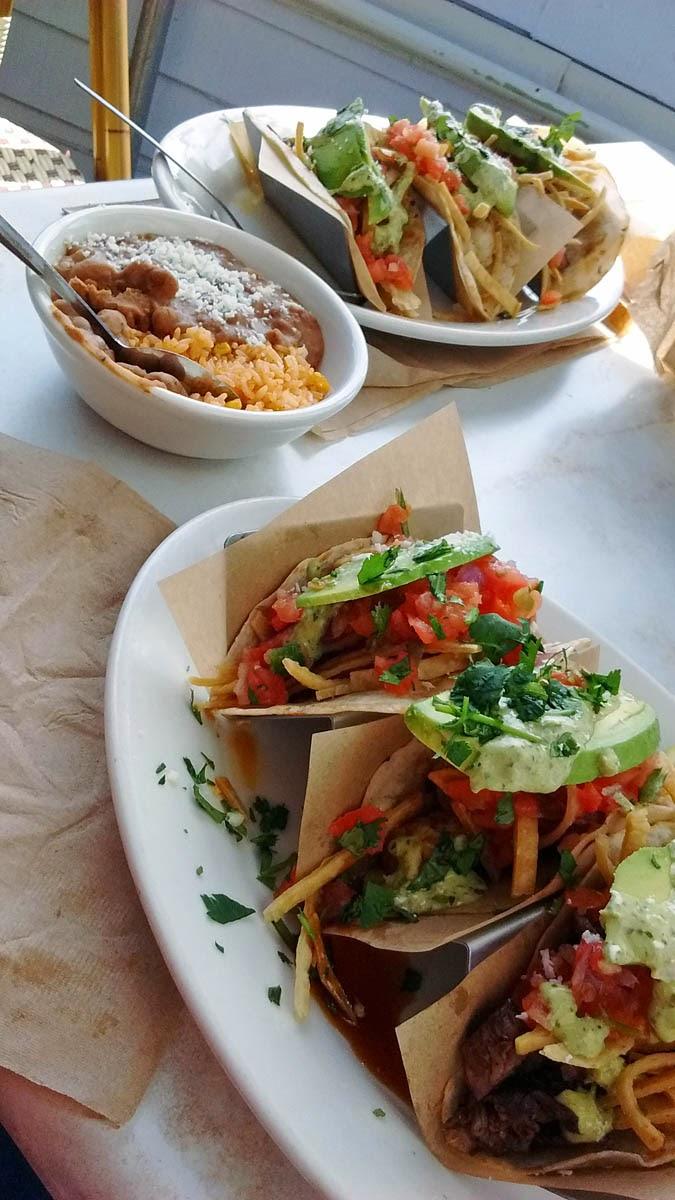 Rockin' Baja Lobster taco plate