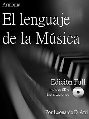 Armonía: El lenguaje de la Música Libro Pdf para aprender Armonía Completo E-book + Cuadernillo de Ejercitaciones + Audios