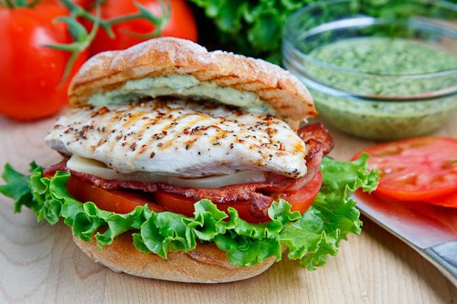 Grilled Chicken and Club Sandwich